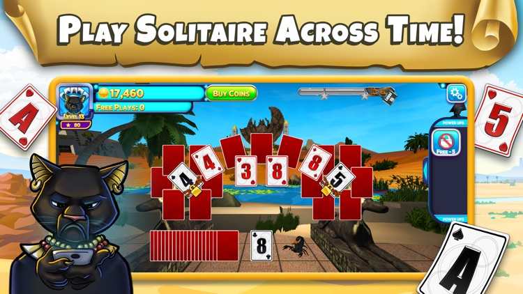 Solitaire Time Warp: Cards screenshot-0