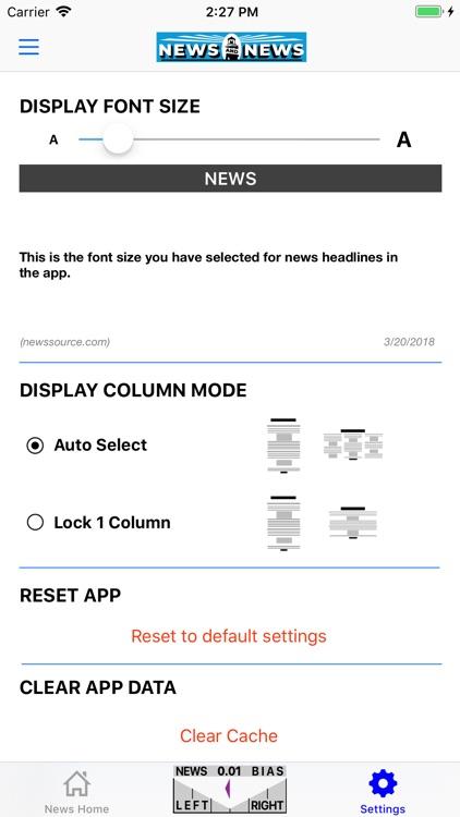 News and News screenshot-3