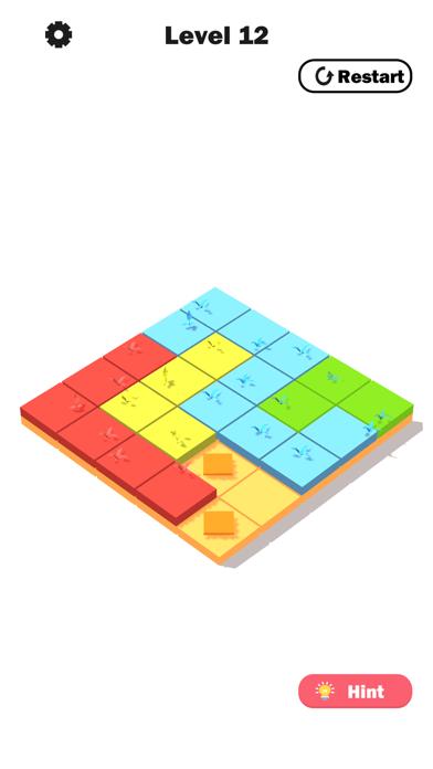 Flower Link -Color Fill Puzzle screenshot 4
