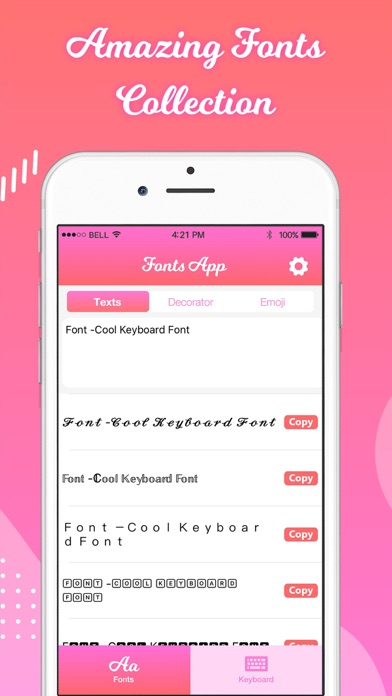 Fonts Keyboard By Technology Product And Service Llc Ios United