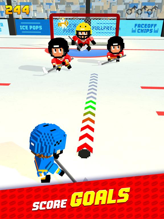 Blocky Hockeyのおすすめ画像1