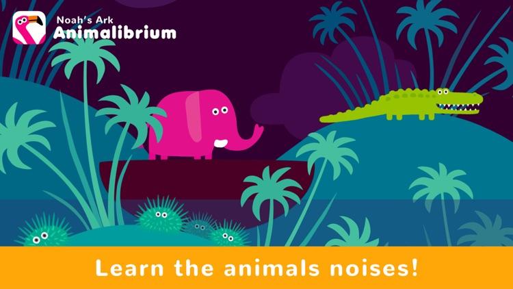 Noah's Ark Animalibrium - Kids screenshot-3