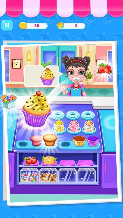 Cupcake Maker Bakery Shop screenshot-0