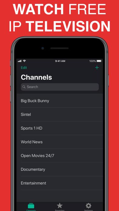 Screenshot #1 pour TV Stream Pro: IPTV゜ en direct