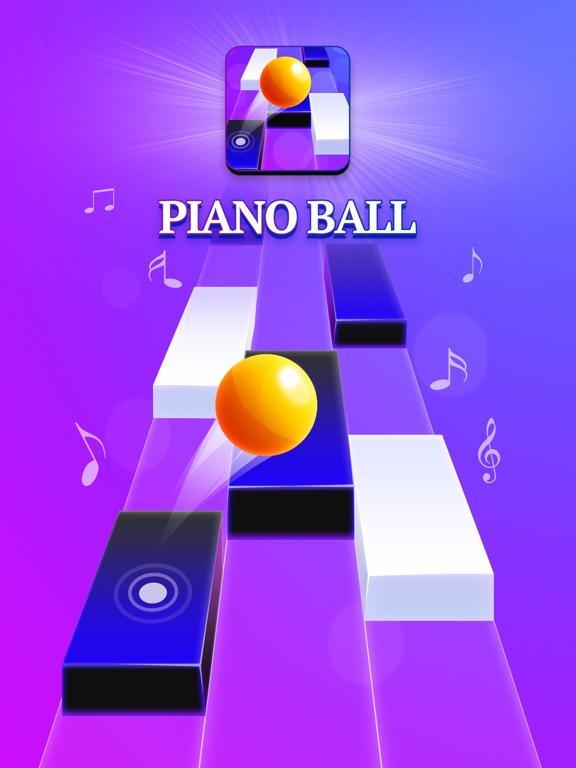 Piano Ball: Run On Music Tilesのおすすめ画像1
