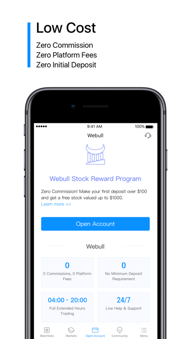 Webull: Trade  Save  Invest  by Webull Limited (iOS, United States