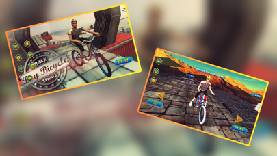 Imposible Crazy Bicycle Stunts screenshot one