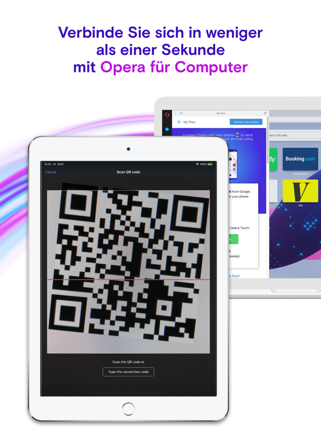‎Opera Touch Web-Browser Capture d'écran