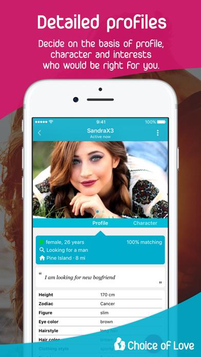 Choice of Love - Dating App screenshot four