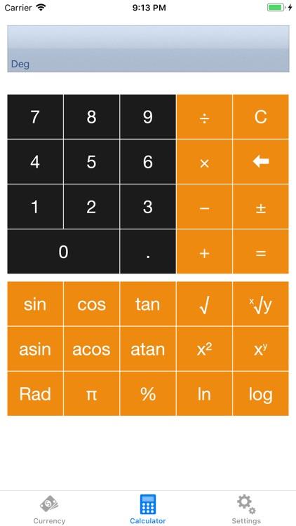 Exchange rate converter screenshot-4