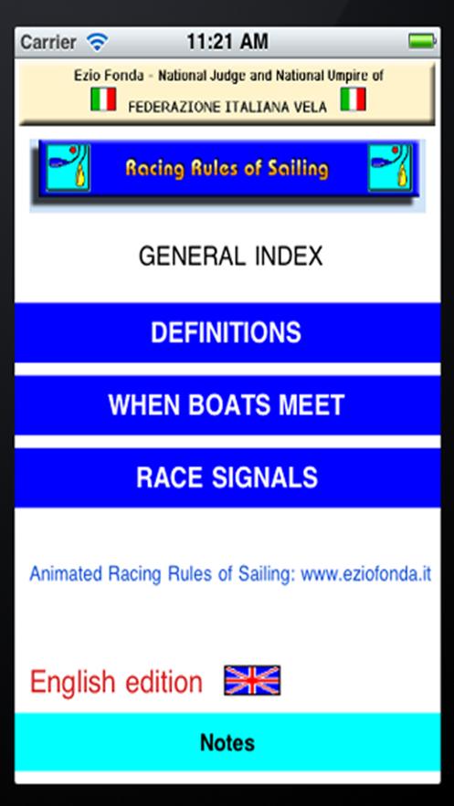 The Racing Rules of Sailing App 截图