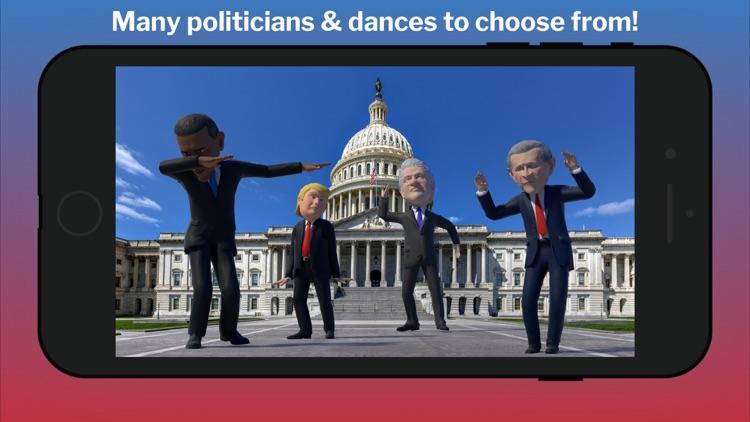 Boogie AR: Dancing Politicians