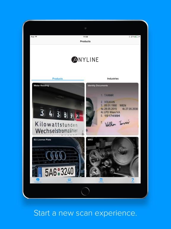 Anyline OCR Scanner-ipad-0