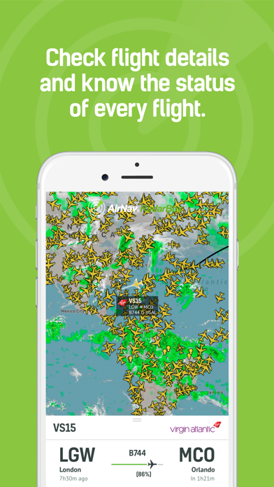 RadarBox · Live Flight Tracker Screenshot