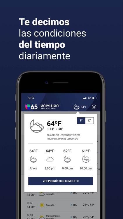 Univision 65 Philadelphia screenshot-3