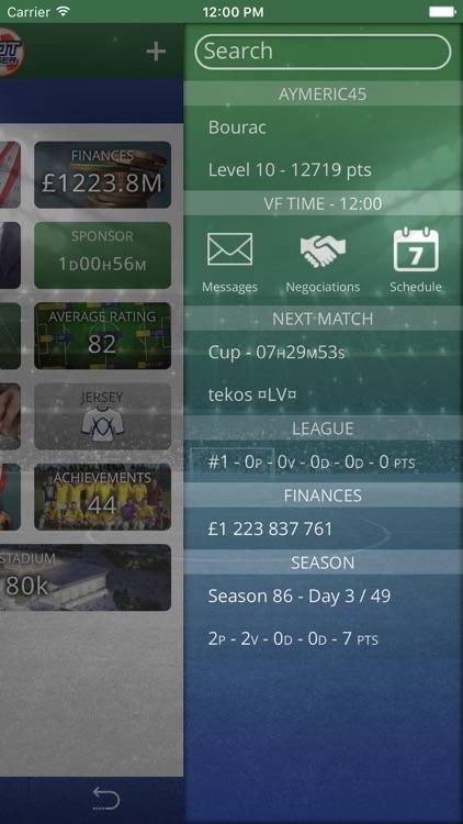 Virtuafoot Football Manager screenshot-4