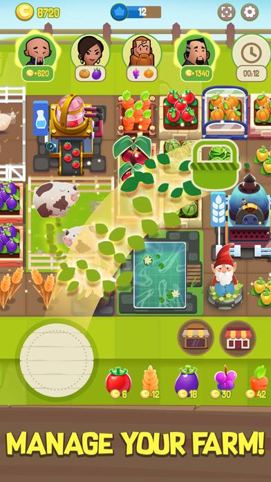 Merge Farm! Screenshot on iOS