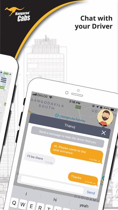 Kangaroo Cabs 2588588 screenshot three