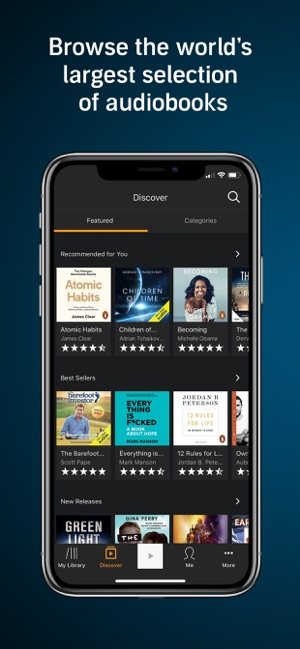 best place to download audiobooks for iphone