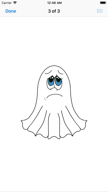 Cute Halloween Ghost stickers screenshot-4