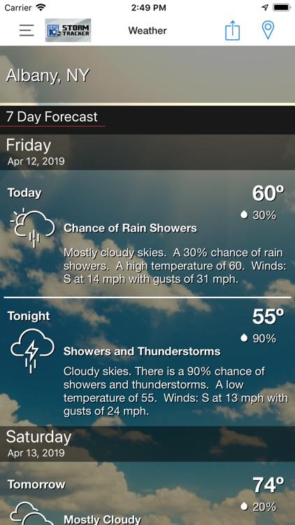 WTEN Storm Tracker - NEWS10 screenshot-3