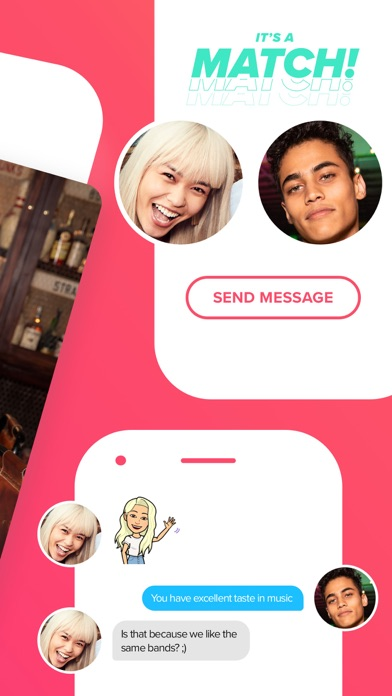 Screenshot of Tinder App