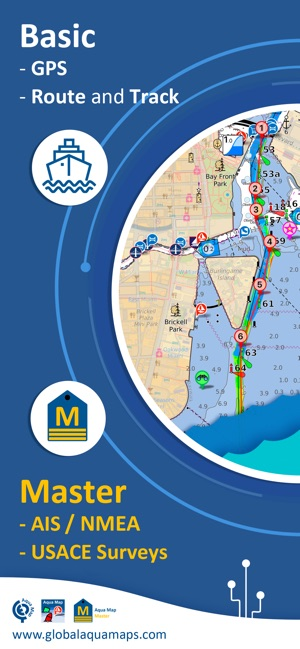 Aqua Map: Marine & Lake maps on the App Store