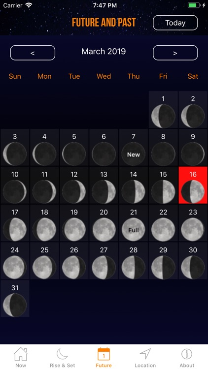 Moon Phase Calendar Plus