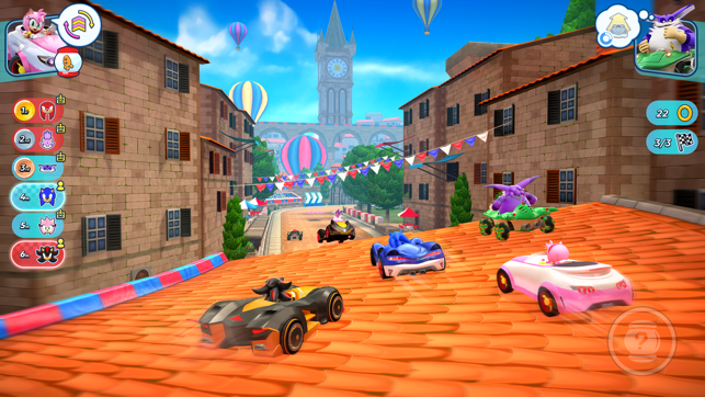 ‎Sonic Racing Capture d'écran