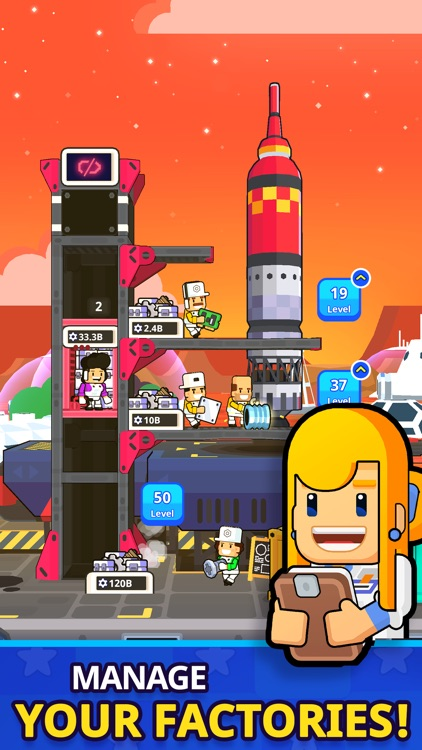 Rocket Star: Idle Tycoon Game screenshot-3