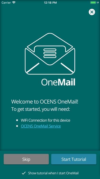 OCENS OneMail