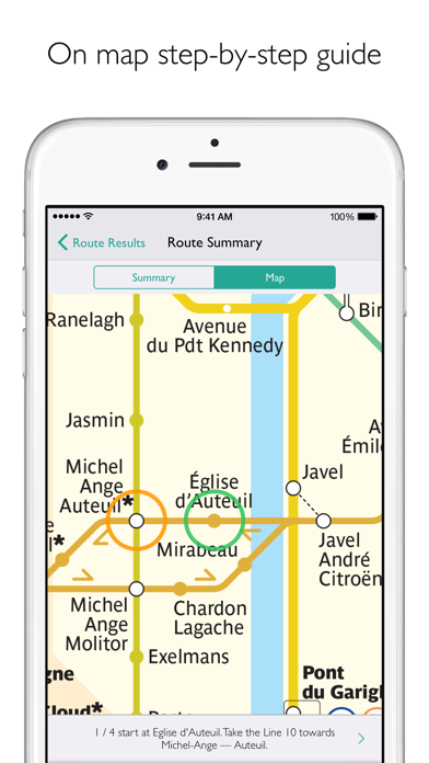 Screenshot for Paris Metro Map and Routes in Sweden App Store