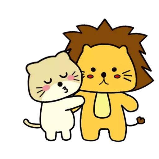 Singa Polah Stickers