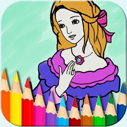 Bejoy Coloring Princess Fairy