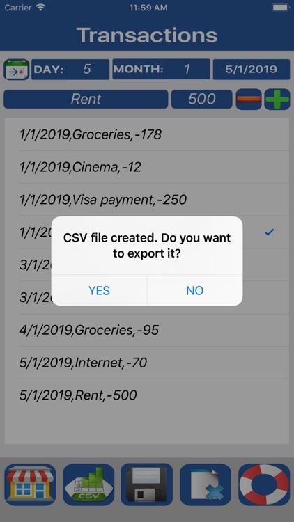 Budget Flow 2-Expenses, Income screenshot-4