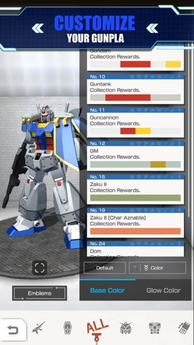 GUNDAM BATTLE: GUNPLA WARFARE screenshot 3