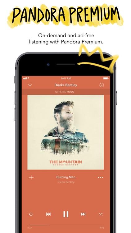 Pandora: Music & Podcasts screenshot-4