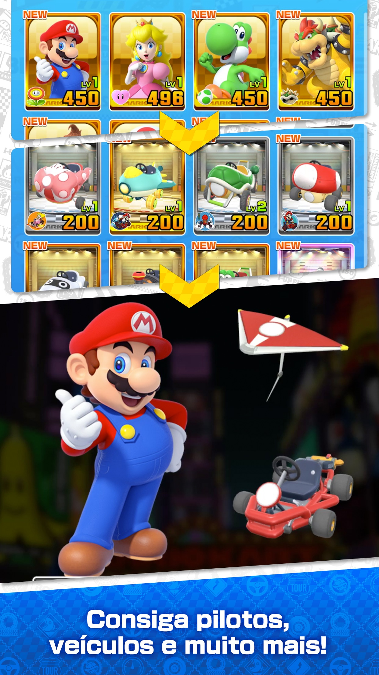 Screenshot do app Mario Kart Tour