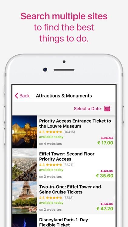 TicketLens: Tours & Activities screenshot-3