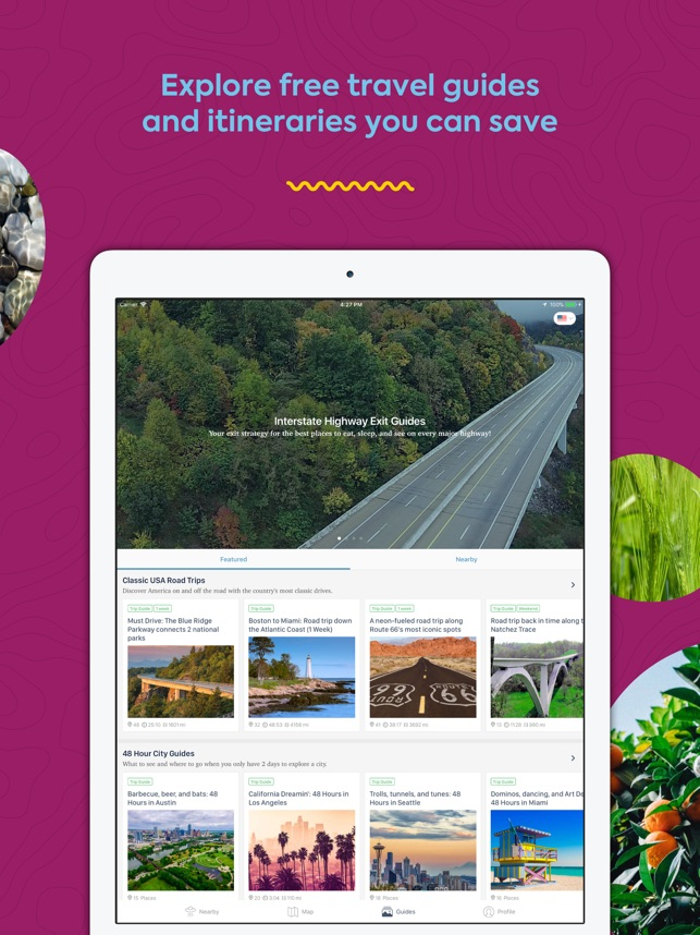 Roadtrippers - Trip Planner on the App Store
