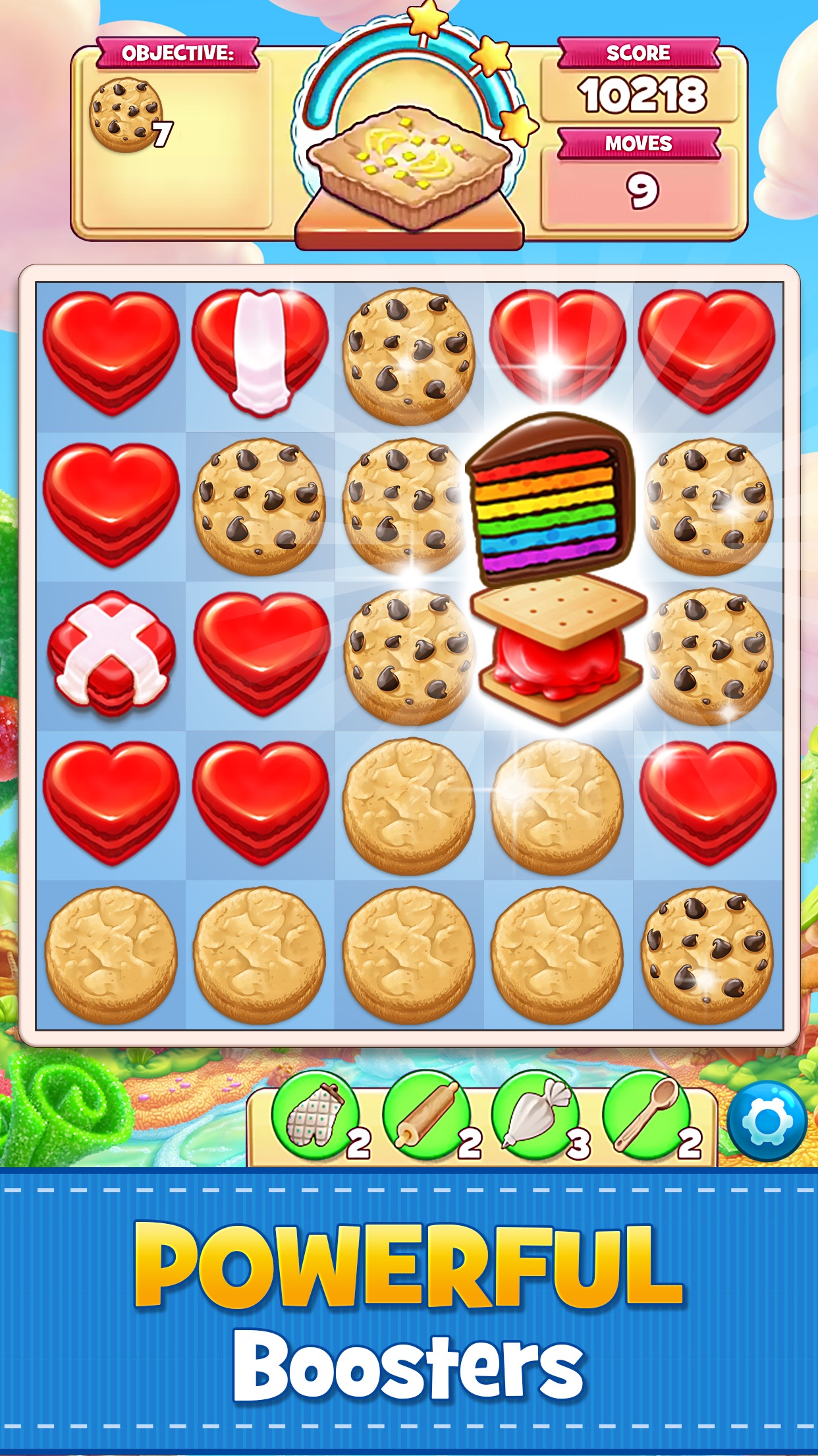 Cookie Jam: Match 3 Games Screenshot