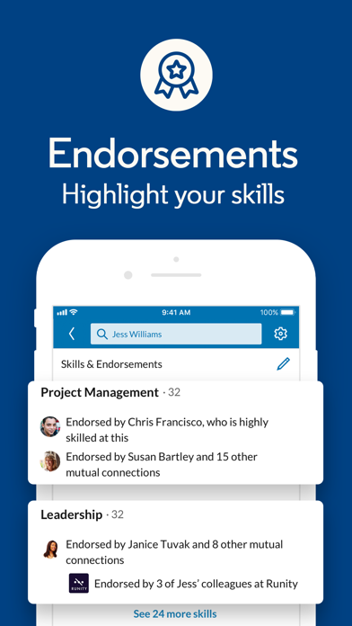 Screenshot for LinkedIn: Network & Job Finder in United States App Store