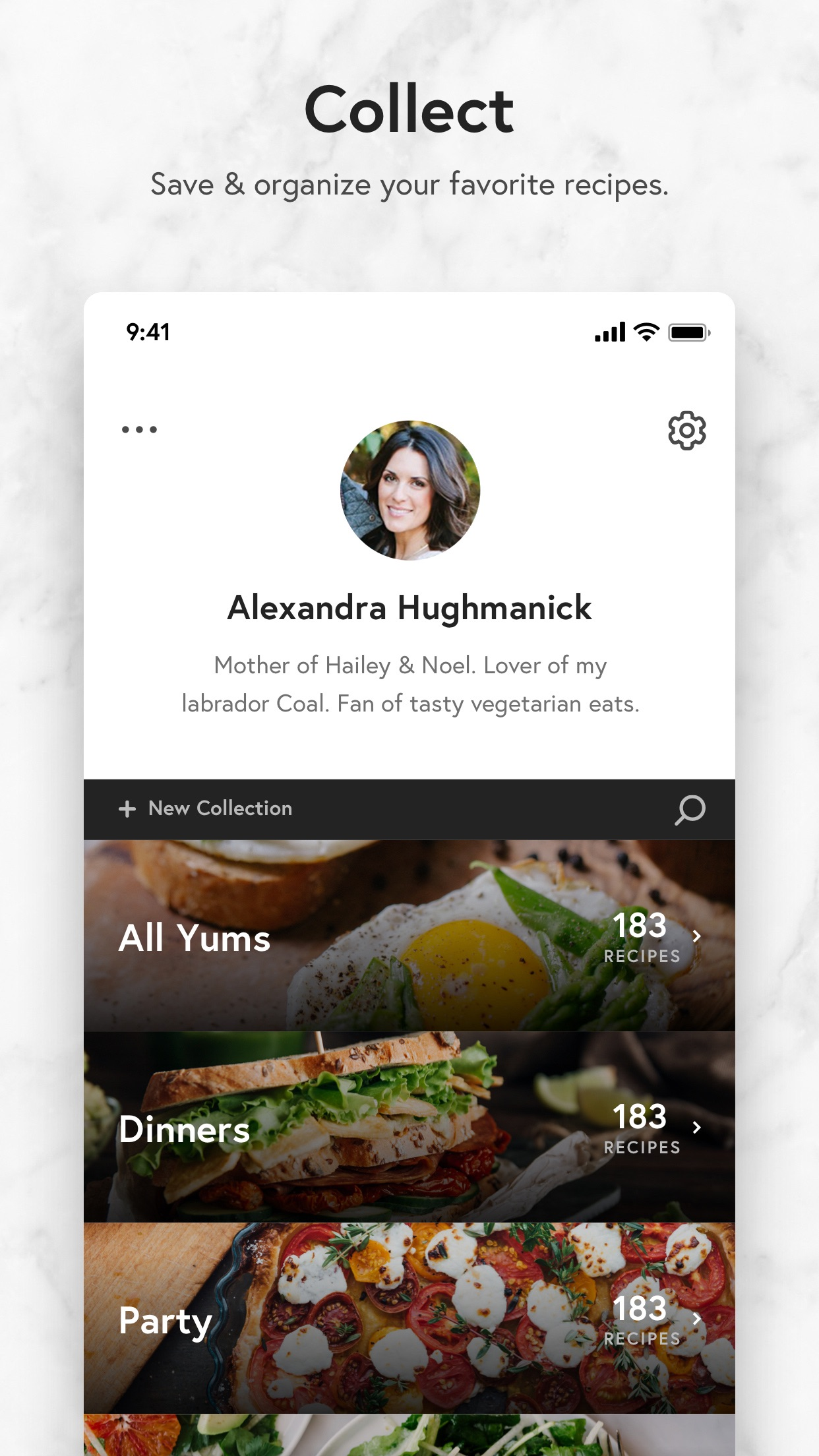 Yummly Recipes + Shopping List Screenshot