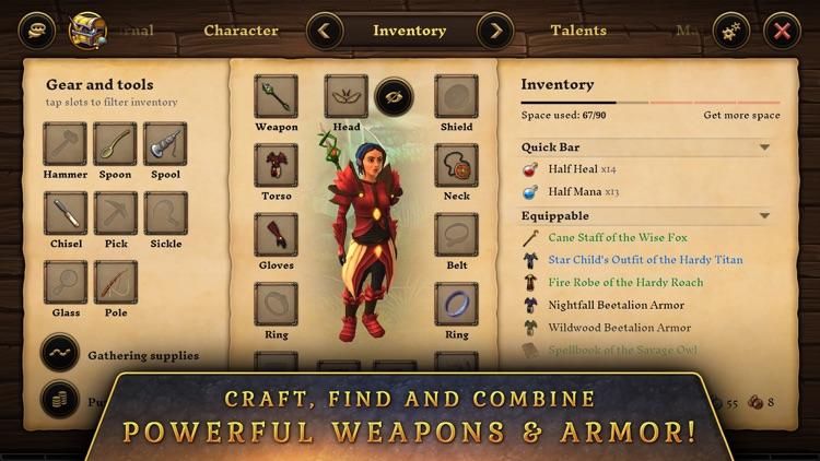 Villagers & Heroes screenshot-4