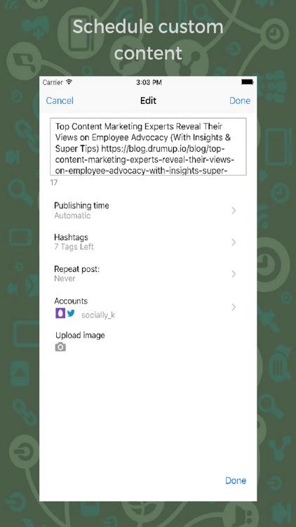 DrumUp-Social Media Management screenshot-3