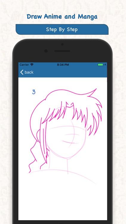 Draw Anime and Manga screenshot-4