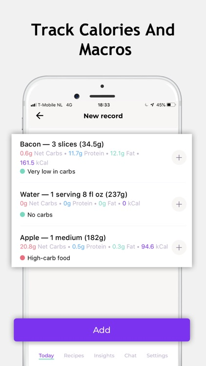 Keto App & Carb Diet Manager screenshot-3