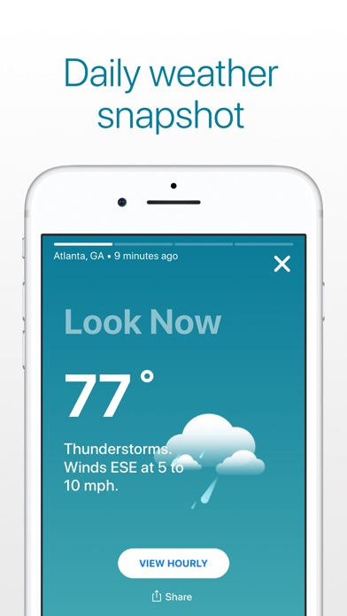 Weather: The Weather Channel app image