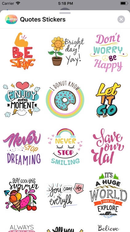 Quotes: Motivational Stickers screenshot-4