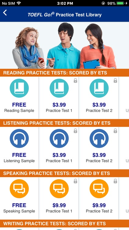 TOEFL Go! Global by Educational Testing Service (ETS)